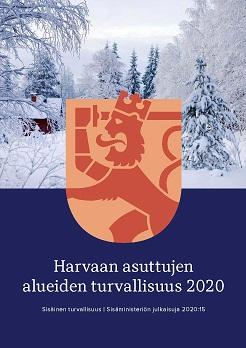 Harvaan asuttujen alueiden turvallisuus 2020
